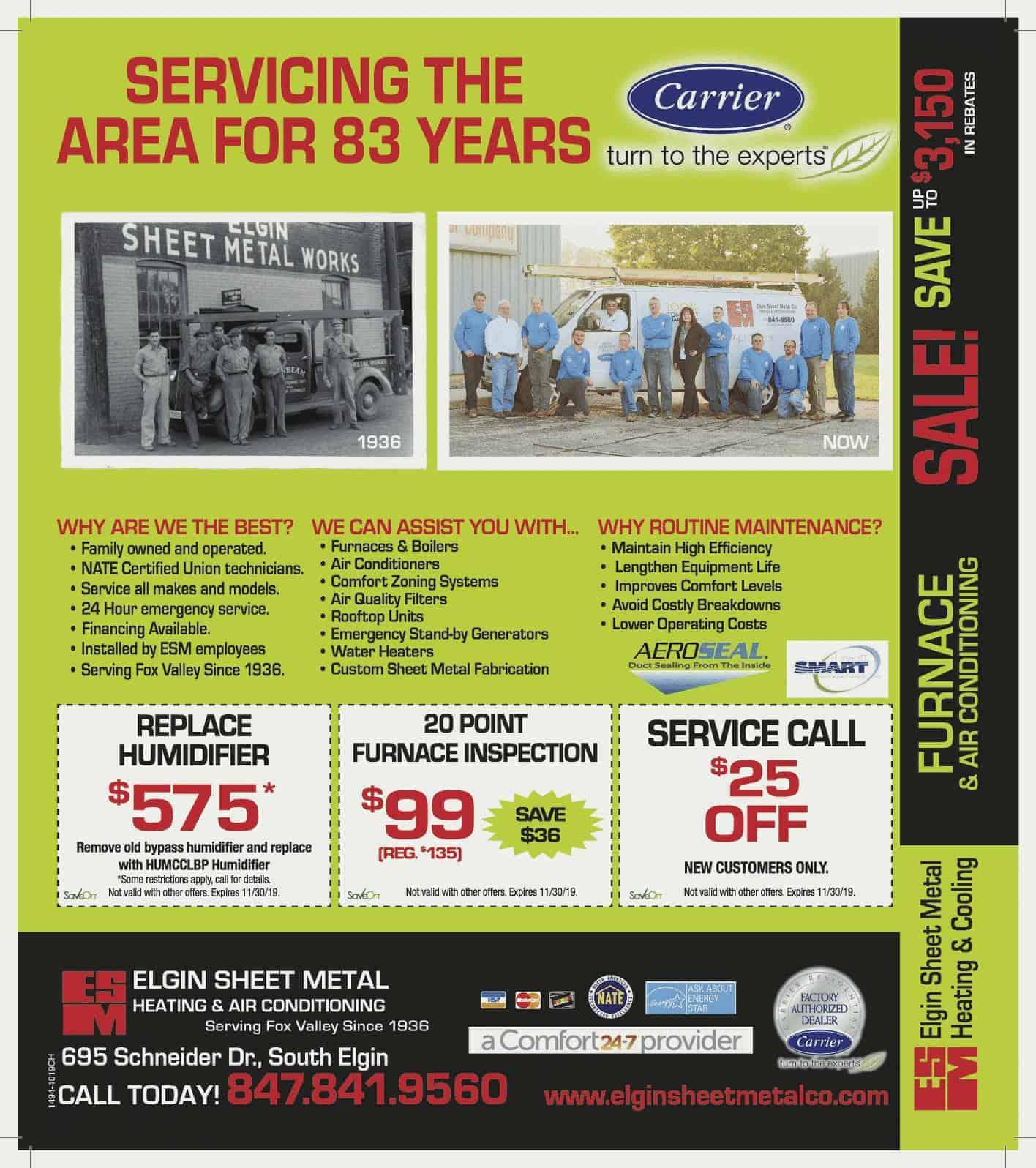 Furnace Special Offer